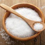 Соль для здоровья волос и кожи лица