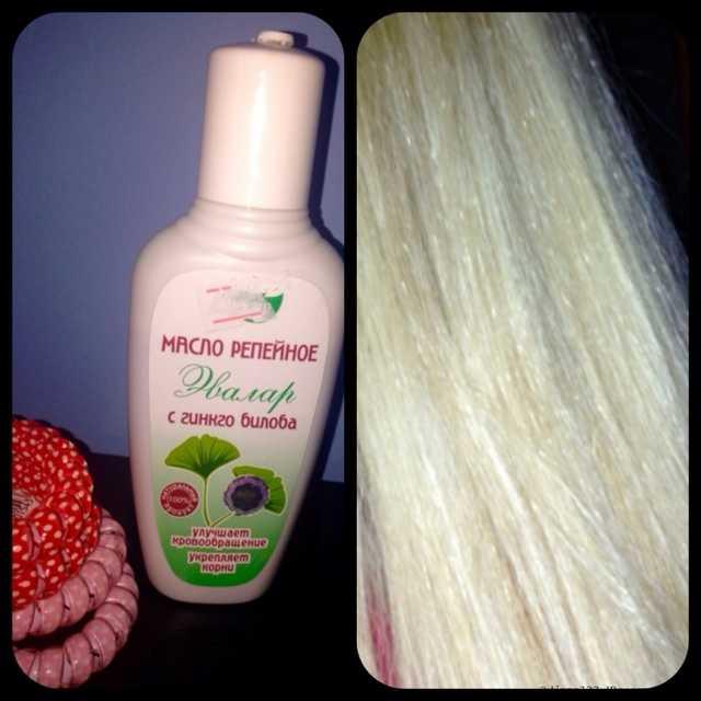 Польза репейного масла для волос