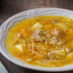 Вкуснейший суп с курицей и лапшой