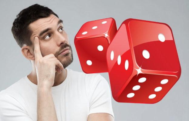 Гадание на кубиках что он думает онлайн бесплатно