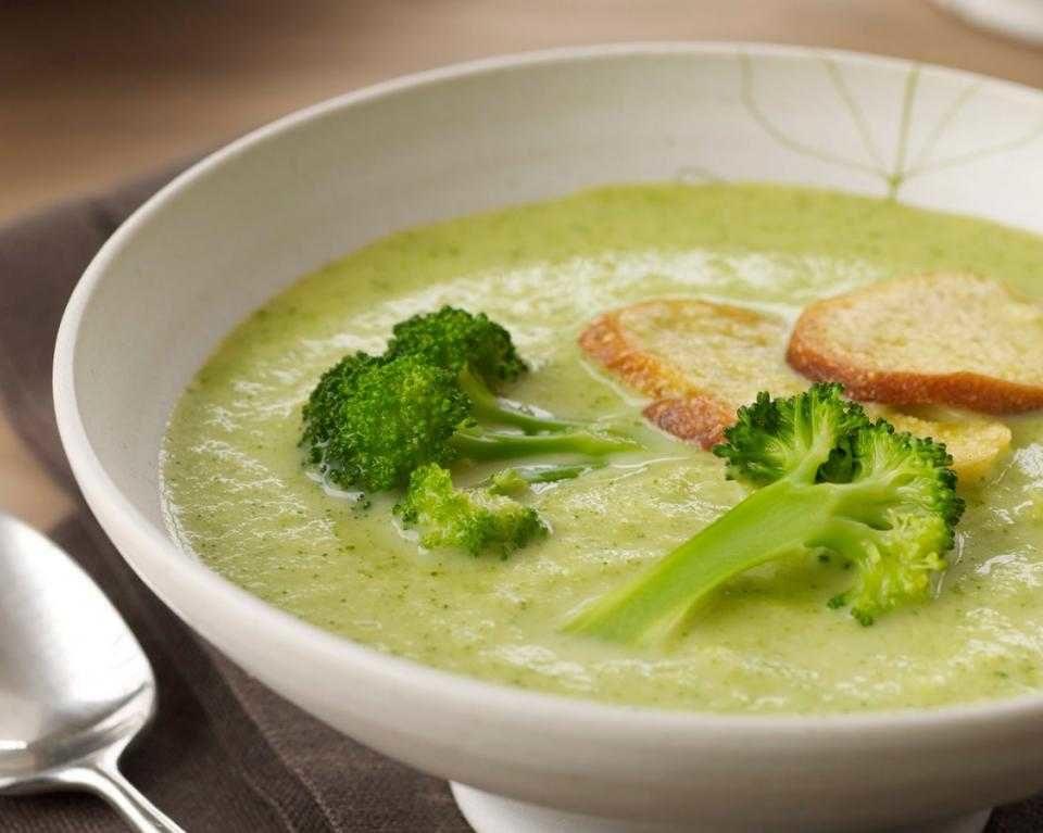 Сливочный куриный суп с брокколи пошаговый рецепт с фото